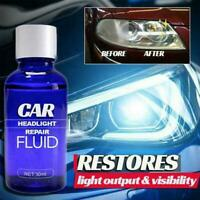 30ML Car Headlight Polishing Repairing Cleaning Liquid Detergent Repair Tool New