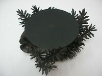 Lodge Metal 3 wick Candle Holder (w/Metal Pine Cones & Branch Base)