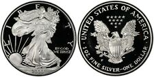 2000-P GEM PROOF SILVER EAGLE DOLLAR w/COA and All Packaging