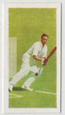 Denis Compton Great British Batsman Cricketer  Vintage Trade Ad Card