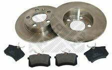 MAPCO Kit disques et plaquettes de frein Arrière pour VOLKSWAGEN GOLF 47858