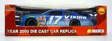 Blanco Nudillo carreras Nascar #17 VISINE die-cast coche MATE Kenseth MIB 2000