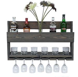 Large Bar Shelf, Gin Shelf, Kitchen Shelf, Bar, Drinks Shelf, Alcohol Shelf