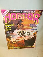 HOUSE OF HORROR Frankenstein DRACULA Yeti the Reptile Film in Comics No 19 1978
