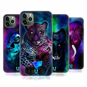 HEAD CASE DESIGNS GLOW SOFT GEL CASE & WALLPAPER FOR APPLE iPHONE PHONES