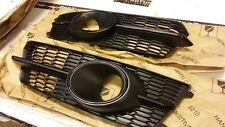 Audi S6 15+ 4G C7 s-Line Front bumper grill mesh ACC grille s line A6 Black cup