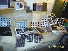Vintage70s ROCK & ROLL Photo Lot-proof sheets-negetives-transparancies-RARE !