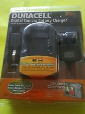 Duracell Digital Camera Battery Charger D60 Sony Canon Nikon Cybershot Olympus,