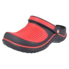 Scarpe rossi marca Crocs per bambini dai 2 ai 16 anni da infilare