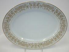"Noritake Raphael Dinnerware China 13 1/2"" Oval Serving Platter 6679"