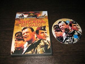 LA BRIGADA DEL DIABLO DVD WILLIAM HOLDESN CLIF ROBERTSON VINCE EDWARDS