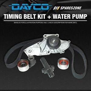 Dayco Timing Belt Kit Inc Waterpump for Ford Capri Convertible SA Laser KE KF KH