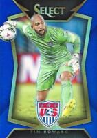 2015 Panini Select Soccer Base Common Blue Parallel Numbered to /299 - (21-40)