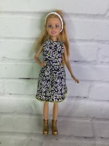 Mattel 2010 Sister of Barbie Stacie Doll With Outfit and Boots Blonde Hair