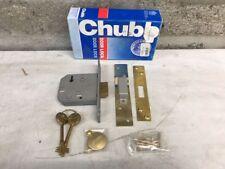 Chubb 3U114 Dead Lock Brass Finish