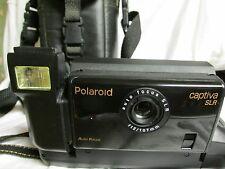 POLAROID CAPTIVA SLR CAMERA w/ MANUAL AND CASE
