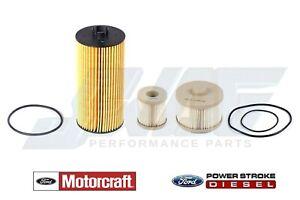 6.0L Van Powerstroke Diesel Genuine Ford Motorcraft OEM Oil & Fuel Filter Kit