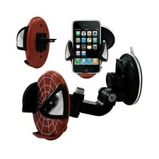 Support universel auto 2en1 pour Apple iPhone 3G / 3GS motif toile couleur rouge