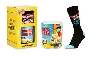 Only Fools and Horses No1 Fan Mug Sock Superfan Gift Set in Presentation Box