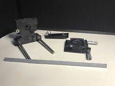 Lot of Laser Assemblies w/ (2) Starret Laser Micrometers Heads