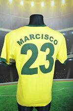RETRO BRAZIL BRASIL TOFFS #23 MARCISCO HOME FOOTBALL SHIRT (M) JERSEY TOP TRIKOT