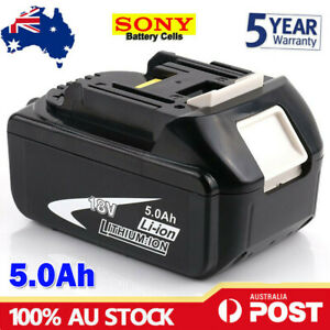 NEW 18V 5.0AH LXT Battery For Makita BL1830 BL1840 BL1850 Li-Ion Cordless Tools