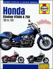SHOP MANUAL SHADOW SERVICE REPAIR HONDA HAYNES VT600 VT750 BOOK CHILTON