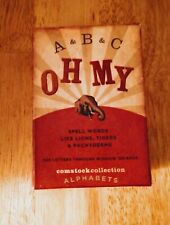 Comstock Collection Alphabet Letters -100Ct
