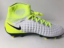 🔥 Nike Magista Obra Ii Sg Pro Soccer Cleats White Volt 903606 110 Men's Sz 7.5