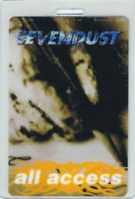 SEVENDUST 1999 Laminated Backstage Pass All Access