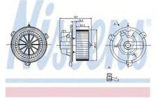 NISSENS Ventilador habitáculo FIAT PUNTO BARCHETTA LANCIA Y 87056