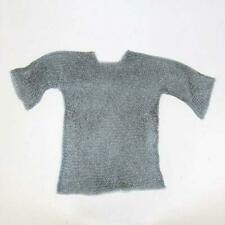 Mythrojan Chainmail Shirt Steel Butted Half Sleeves Renaissance Costume