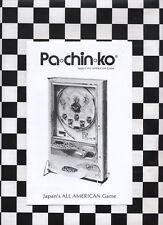 Nishijin Recycler pachinko machine operating and instruction manual