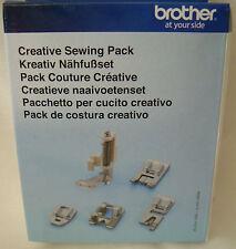 Brother Creative Sewing Pack of Feet F002N F004N F005N F021N F067 XF7598-001
