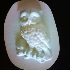 Owl Plastic Mold Plaster Concrete Cement Mould