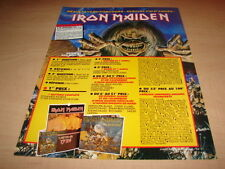 IRON MAIDEN - FRENCH COMPETITION!!!! PUBLICITE / ADVERT
