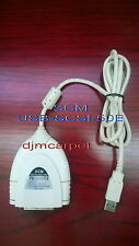 SCM usb-scsi-md50B USB to SCSI adapter good condition
