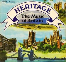 HERITAGE THE MUSIC OF BRITAIN ambrosian singers SSR 77/1/2 DOUBLE LP PS EX/EX