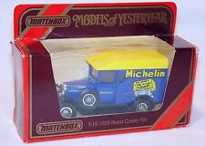 Matchbox 1:39 MORRIS COWLEY Car Van MICHELIN Y-19 MB`86