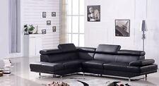 Ledergarnitur Ledersofa Voll-Leder Ecksofa Sofa Couch Eckgruppe 2020-LS