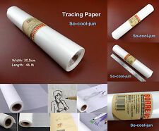50yard 46m Leather Craft Carve Sketch Copy Draw Acid Transfer Tracing Paper Tool