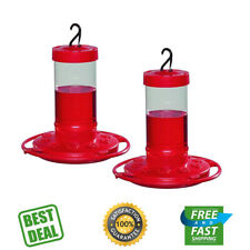 First Nature 16 oz. Hummingbird Feeder (2 Pack), Red New