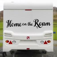 HOME ON THE ROAM LARGE STICKER Funny Caravan Bailey Swift Novelty Vinyl Decal