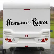 HOME ON THE ROAM LARGE STICKER Funny Caravan Bailey Swift Novelty Vinyl Decal