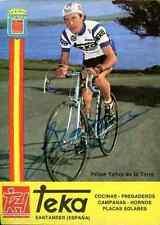 FELIPE YANEZ Team TEKA 82 Signed Autographe cycling Signé cyclisme autografo