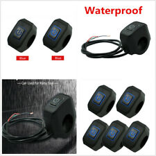 """For Motorcycle 7/8"""" Handlebar Waterproof Switch Start / Stop Momentry Buttton"""