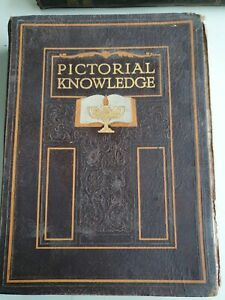 1933 PICTORIAL KNOWLEDGE BOOK VOLUME 4 EDITED BY H.A. POLLOCK & ENID BLYTON
