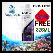 2 X Seachem Pristine 325ml Aquarium Fish Rapid Waste & Detritus Sludge Treatment