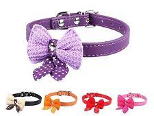 Adjustable Pet Dog Puppy Cat Dickie Bow Tie Collar Neck Tie Neck UK