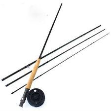 Carbon Fiber Fly Fishing Rod 9FT 2.7M Super Lightweight Medium Action Pole 5 WT
